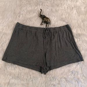 Super Soft & Comfy Gray 3X Lounge Shorts